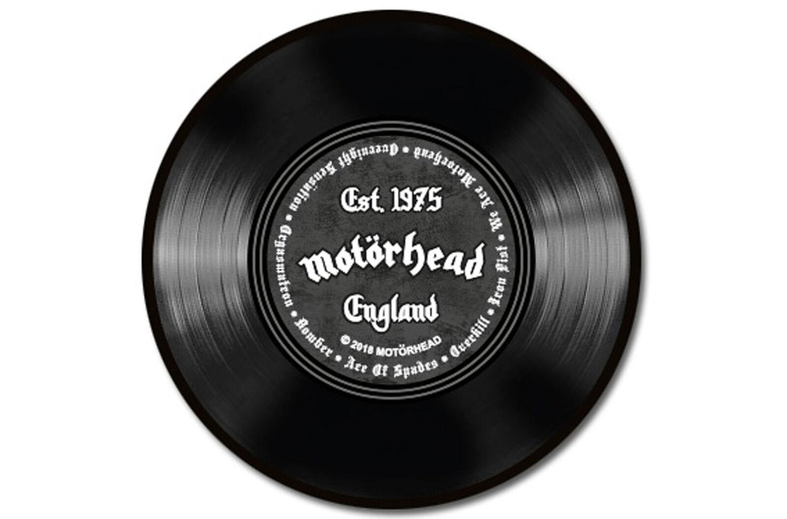 Motörhead - Est. 1975 - - - Hochwertiger Teppich - Größe Ø 90 cm 4a3a0b