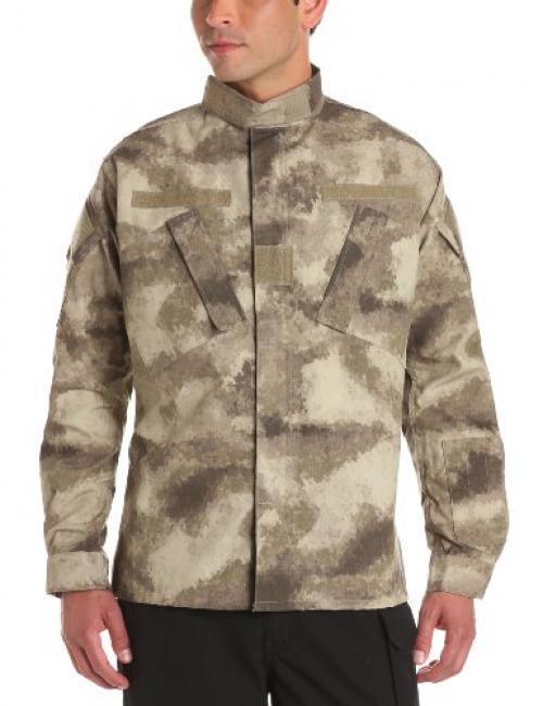 Propper Men's Army Combat Uniform (ACU) Coat, A-TACS AU Camo, Medium Short