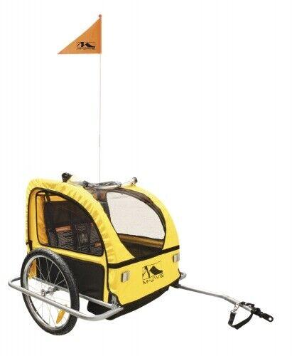 M-Wave Fahrradanhänger Carry All S 20 Zoll Unisex Gelb