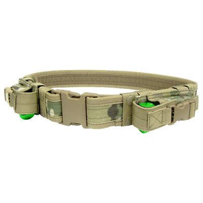 Condor Tactical Duty Belt Combat Police Pistol Magazine Equipment Belt CP
