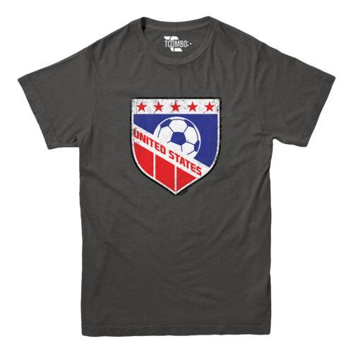 Football Futbal Club Team Sports Ball Youth T-shirt USA Soccer