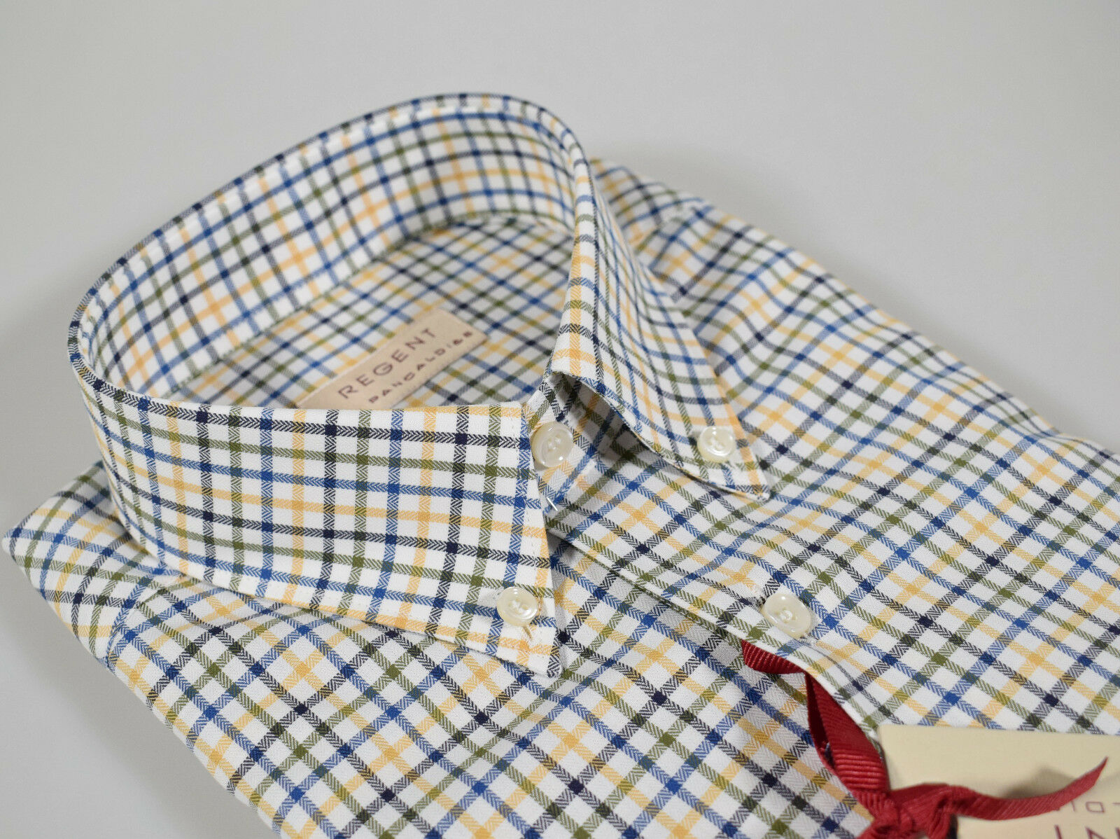 huge selection of 86568 b181a Camicia Camicia Camicia a quadri Regent by Pancaldi Regular ...