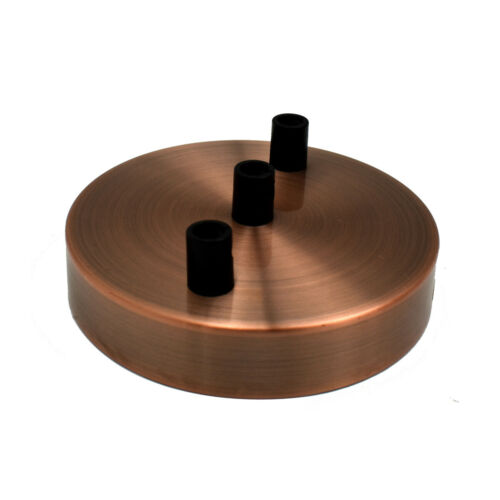 Ceiling Rose Single /& Multi Point Drop Outlet  Perfect for fabric flex Cable