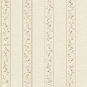Coordinating-Floral-Bouquet-Stripe-Wallpaper-FD8462