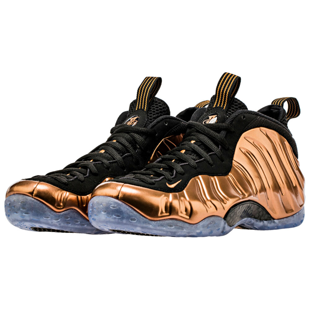 NIKE chaussures hommes chaussures  Air Foamposite One  NEW baskets NUOVE Metal COPPER 20th