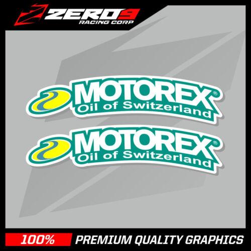 Motorex Fender Motocross MX Gráficos de gráficos KTM Sx Sxf Kxf Yzf Crf H.