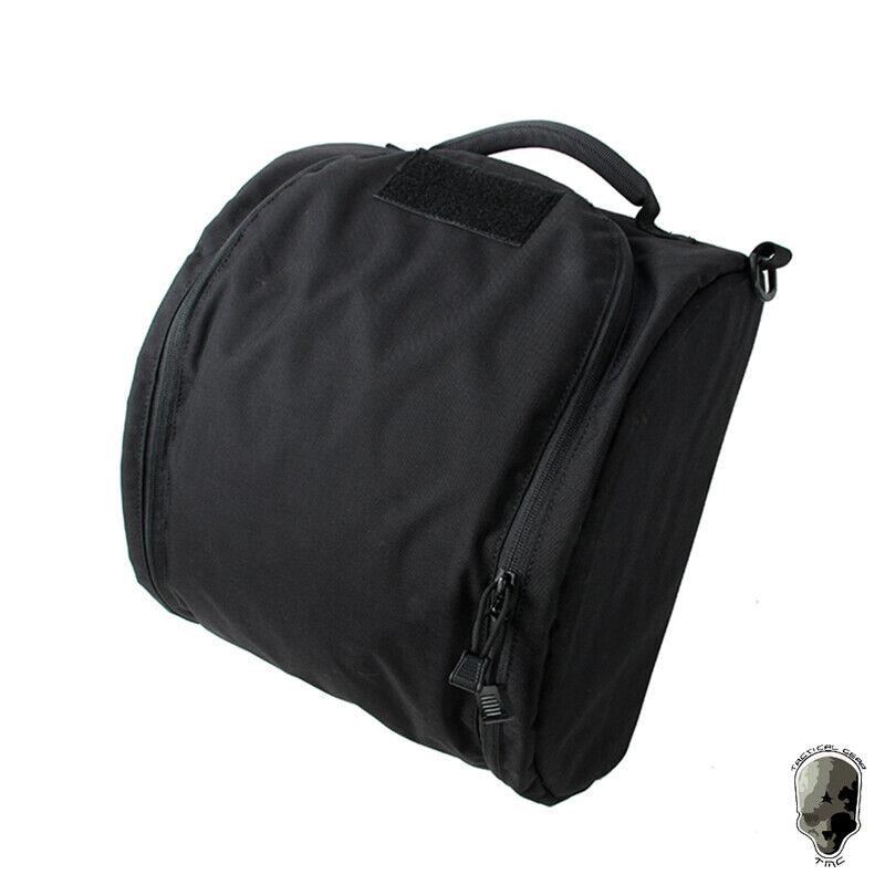 TMC Casco Táctico Bolsa De Almacenamiento Bolso Portador cordura 500D Paintball Camo
