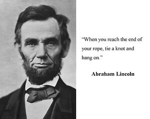 Details About President Abraham Lincoln Famous Quote Motivational 11 X 14 Photo Picture P2