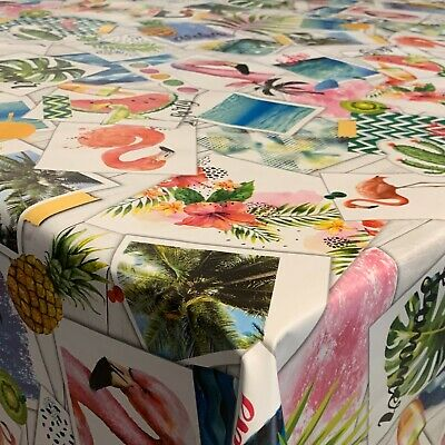 Wachstuch Tischdecke Wachstischdecke Hawaii Größe Wählbar Lfgb Abwaschbar