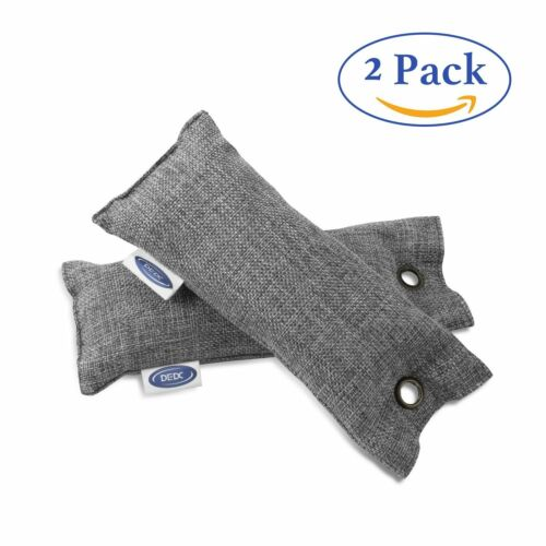 Natural Activated Bamboo Carbon Air Purifying Bags Charcoal  Odor Remover #HA2