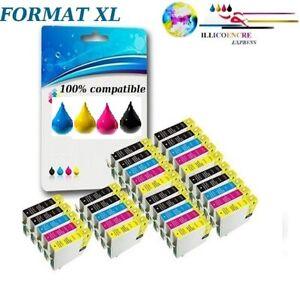Lot-cartouches-d-039-encre-compatibles-pour-imprimantes-Epson-livraison-express