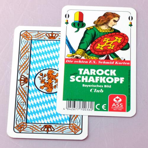 Spielkarten von Frobis 10 Tarock Schafkopf Club Kartenspiele Bayerisches Bild