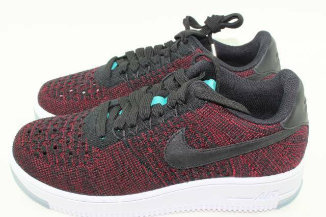 NIKE AIR FORCE 1 FLYKNIT FLYKNIT FLYKNIT LOW WOMAN SIZE 6.0 NEW RARE AUTHENTIC BLACK f00c7e