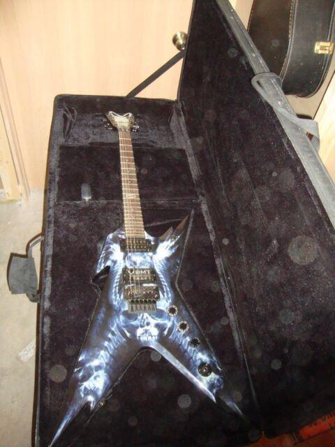dean dimebag explosion razorback electric guitar for sale online ebay. Black Bedroom Furniture Sets. Home Design Ideas