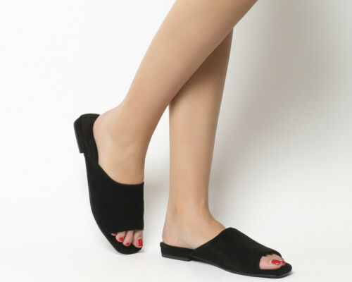 Vagabond Flats Becky Womens Black Mules 6Z0xzxq