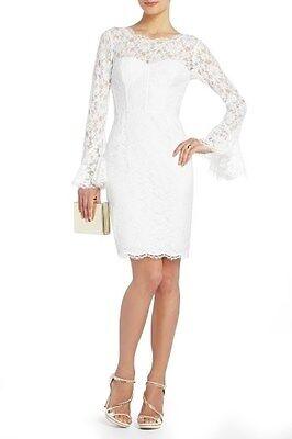 new bcbg max azria e lace salina corset long sleeve dress