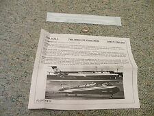 Flight Path decals 1/200 FP20-249 TWA Wings of Pride MD80    E102