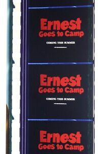 Ernest Goes to Camp, 35mm Film Trailer, Jim Varney, Ernest P. Worrell