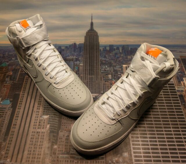 Nike Air Force 1 High 07 LV8 Pure Platinum Mens Size 10.5 806403 012 Low Mid New