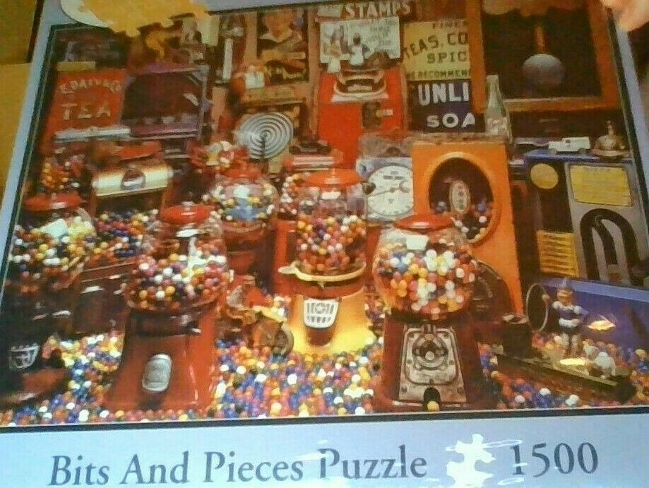 Pieces Bits e Pieces  CeY STORE-      A Lot to Chew    1500 PIECE - 24 X33   ecco l'ultimo