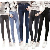 NEW WOMEN LADIES STRETCH SLIM SKINNY FIT DENIM JEANS JEGGINGS SIZE 8 10 12 14 16