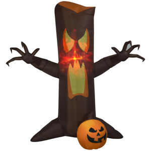 HALLOWEEN ANIMATED ANGRY TREE GRABS  HAUNTED HOUSE  INFLATABLE AIRBLOWN 9.5 FT