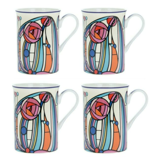 ART NOUVEAU MUG Gift Boxed Rennie Mackintosh Tea Coffee B/&B Bulk Scotland BNIB