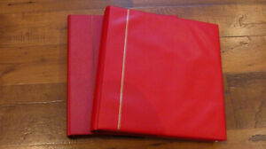SAFE-PREMIUM-for-Canada-2-Red-Hingeless-Albums-From-1977-to-1988