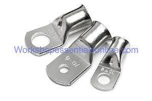 10 mm² x 5 mm tubo di rame terminali a crimpare//saldare cavo//batteria//occhielli LUG termina