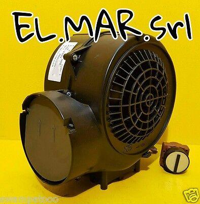 Ventilatore Centrifugo Motore elettrico 155 W cappa 3 velocità  230 V monofase