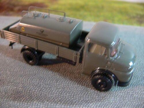 1//87 Brekina MB 322 Deutsche Bundespost Pritsche mit Tankaufbau 84560