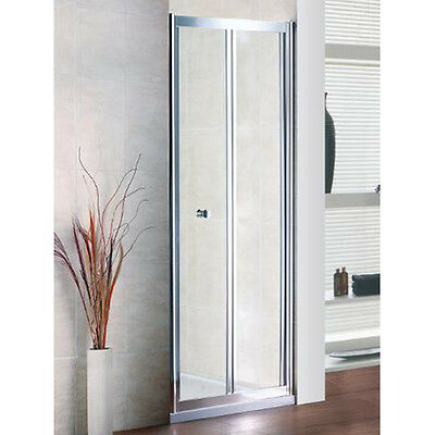 800mm x 800mm Shower Cubicle; Shower Tray & Bi-fold Door 800mm