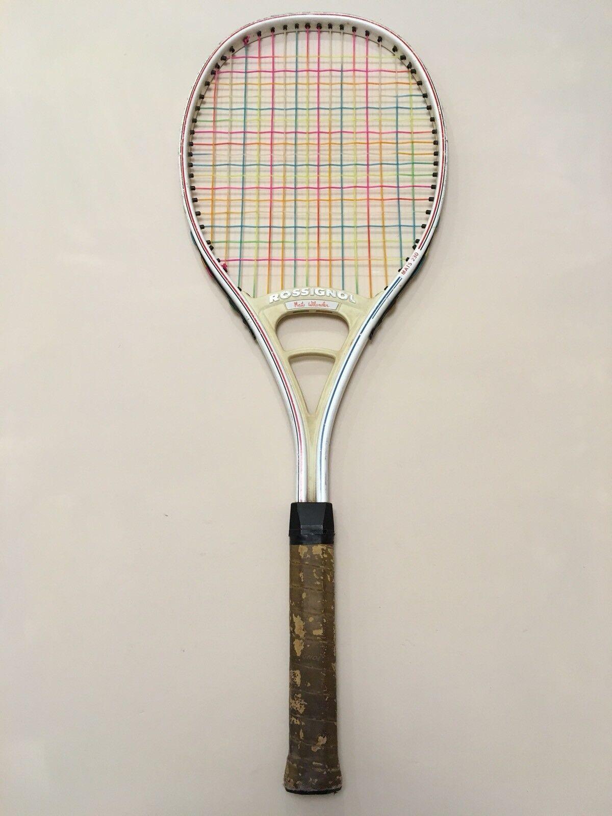 ROSSIGNOL MATS 230 230 230 WILANDER Racchetta Tennis Racket vintage 9b7358