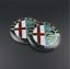 2-Stemma-ALFA-ROMEO-147-156-159-GIULIETTA-MITO-Logo-Fregio-Anteriore-Posteriore miniatura 1