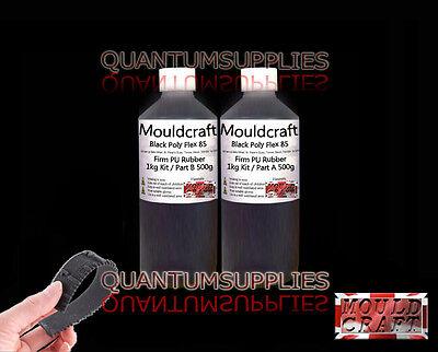 1kg Mouldcraft Blue Poly Flex 85 Shore Fast Cure  Polyurethane Casting Rubber