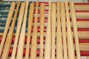 Details about 13 baseball bat halves for DIY baseball bat American flag  18  inch blem bats
