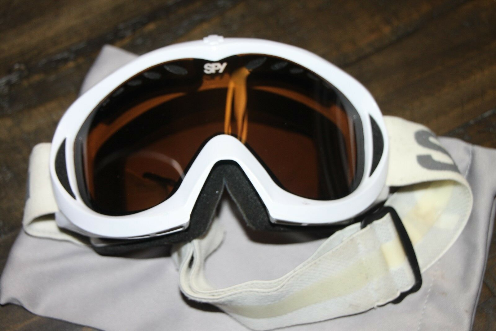 Spy Men's Snowboard Goggles - White   online shopping and fashion store