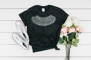 03ba6197 RBG Ruth Bader Ginsburg T-Shirt Unisex Dissent Collar Notorious RBG ...