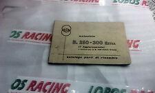 CATALOGO RICAMBI ORIGINALE GILERA MOTOCICLO B. 250 300 EXTRA SPARE PARTS