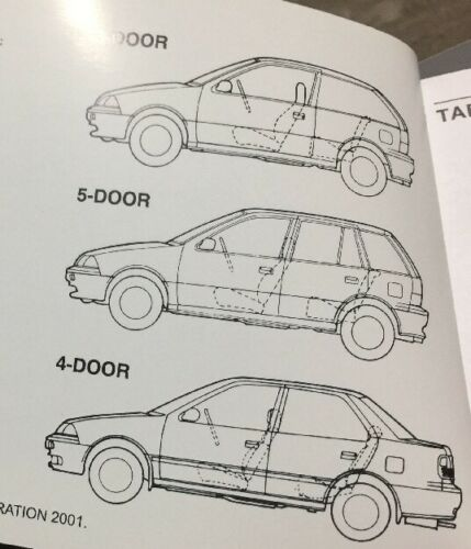 #21 SUZUKI SWIFT OWNERS INSTRUCTION MANUAL DRIVERS HANDBOOK GUIDE BOOK 1992-2003