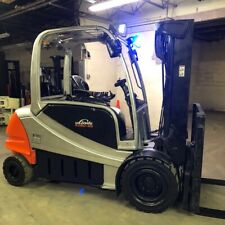 2016 Linde Rx60 45 9000lbs Used Electric Forklift Withtriple Mast Sideshift