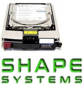146-8GB-10K-U320-SCSI-Hot-Plug-G4-G3-286716-B22-185-ExVAT