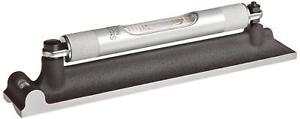 """Starrett 98-4 Machinists' Level with Ground and Graduated Vial 4/"""" Length"""
