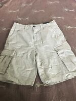 Men's 30w American Eagle Classic Fit Khaki Cargo Shorts $44.95 Retail