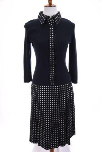 Carlisle Rockabilly Sweater Cardigan Pleat Skirt S