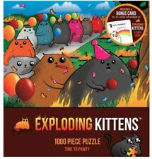 Outset Media Exploding Kittens 1000pc Puzzle For Sale Online Ebay