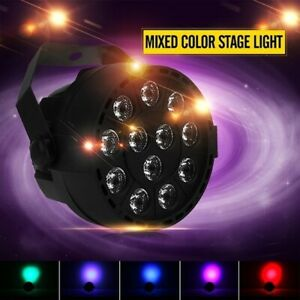 60W-12-LED-Disco-DJ-Stage-PAR-Lamp-RGBW-Voice-Activated-Light-Party-DMX-512