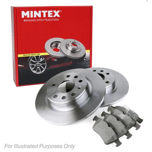 New MG ZT 2.0 CDTI Saloon Genuine Mintex Rear Brake Disc /& Pad Set