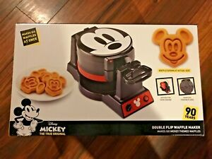 90257d3b9 Image is loading Disney-Mickey-Mouse-90th-Anniversary-Double-Flip-Waffle-