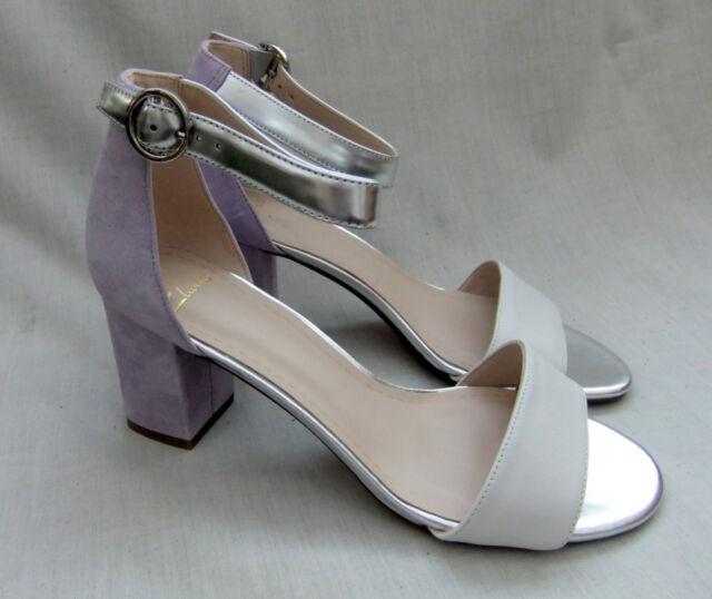 4ded2b2023cf Clarks Susie Deva Womens Multi Suede   Leather Sandals UK 5.5 for ...